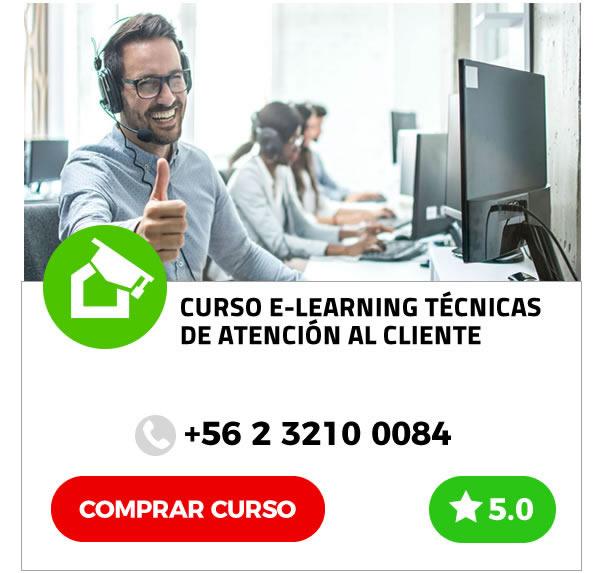 Curso E-learning Técnicas de Atención al Cliente
