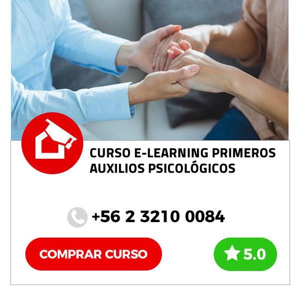 Curso E-learning Primeros Auxilios Psicológicos